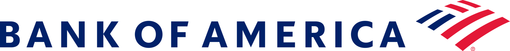BofA enterprise horizontal color logo